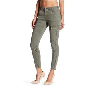 J. BRAND Houlihan Gray Skinny Cargo pants 25